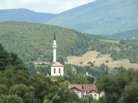 Lijepa džamija na brdu