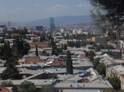 Pogled na Tbilisi